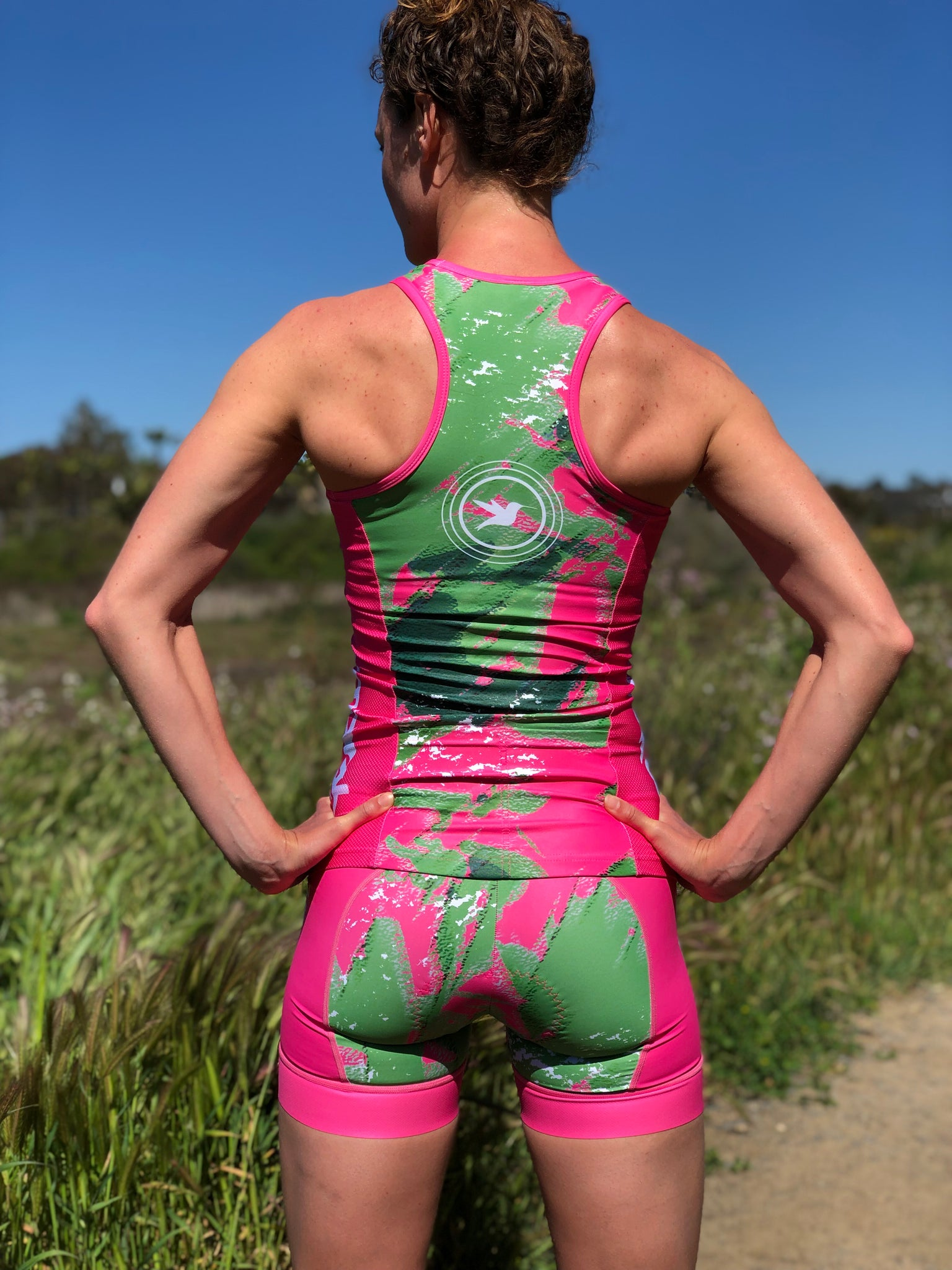 "Camo Lemmon Women's 5"" Tri Short *FINAL SALE*"