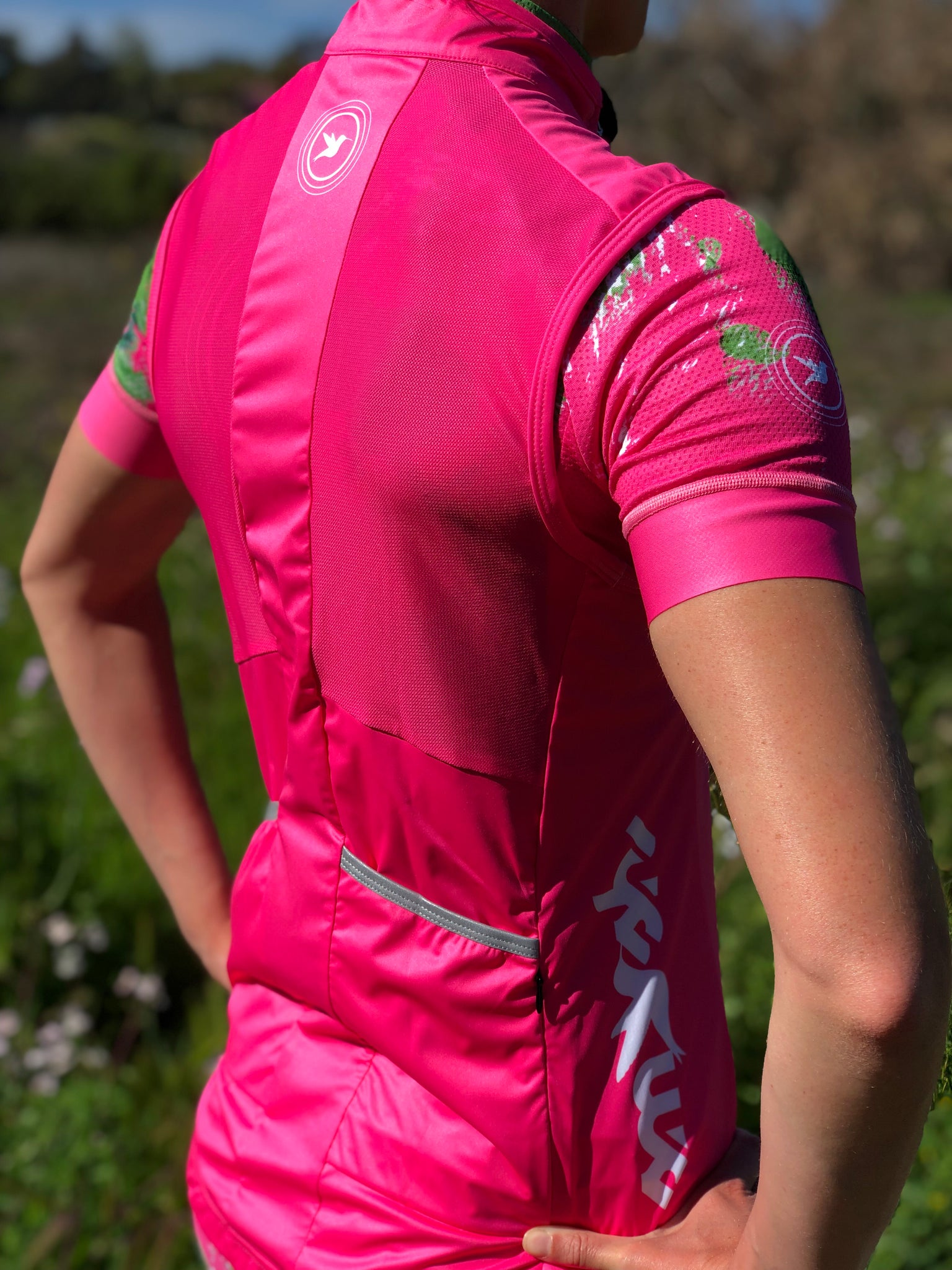 Women's All-Pink Endurance Vest