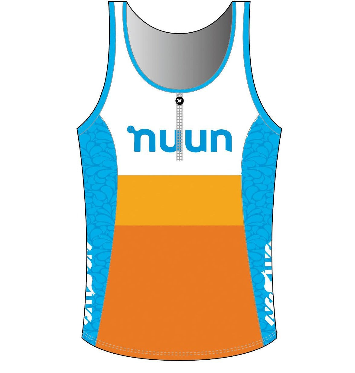 2021 Nuun Hydration Women's Tri Top with Zip Pre-order