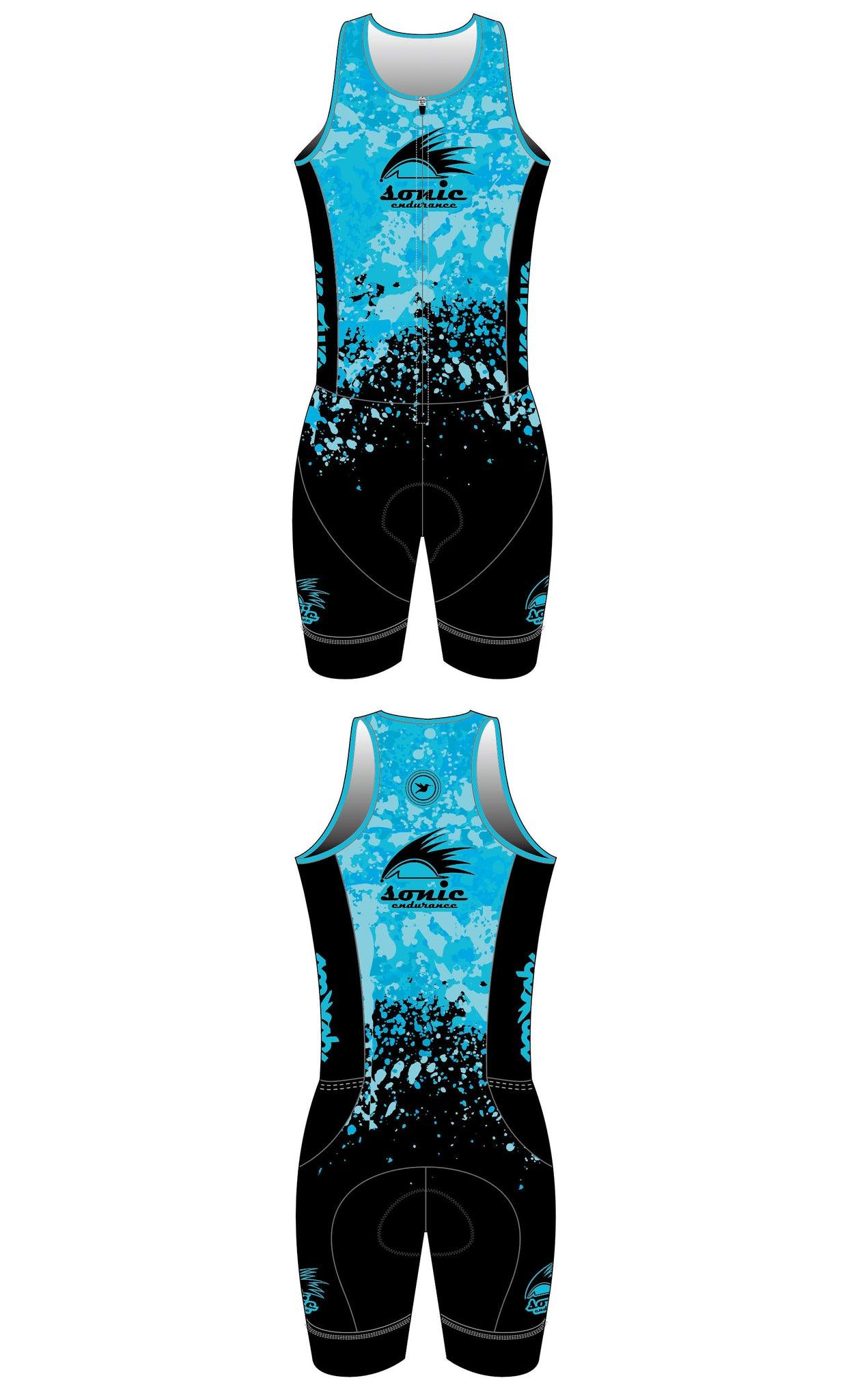Sonic Endurance Women's Sleeveless One-Piece Trisuit Pre-Order