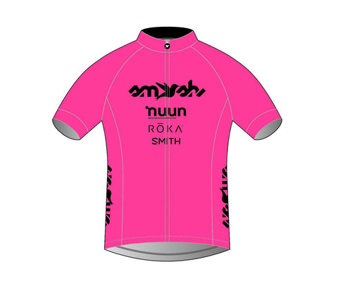 2021 Club SFQ Men's PINK Cycling Jersey