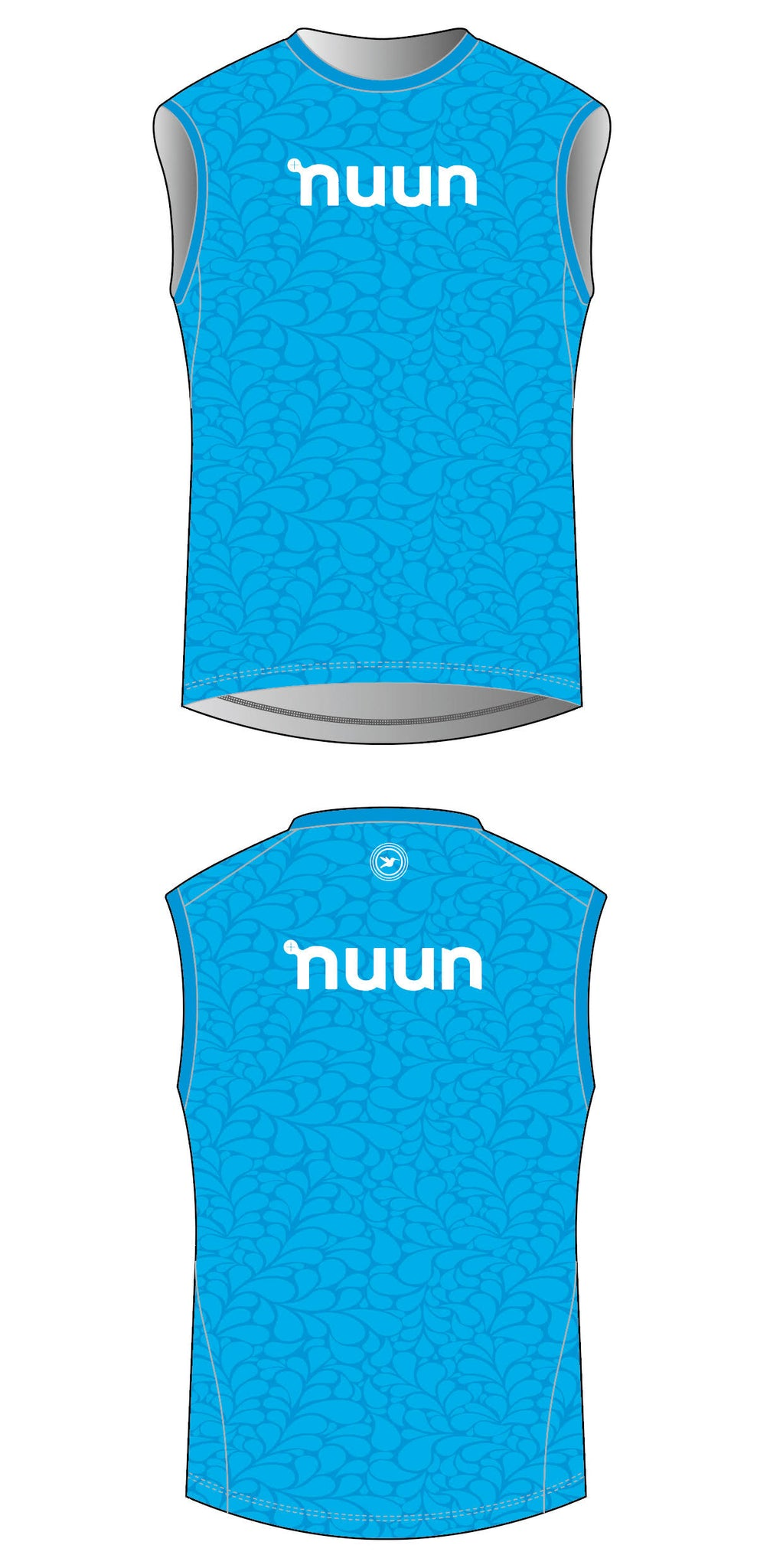 2021 Nuun Hydration Women's Blue Water Base Layer Pre-order