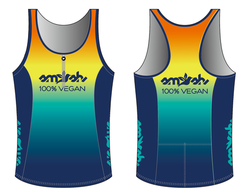 100% Vegan Women's Tri Top with Zip Pre-order