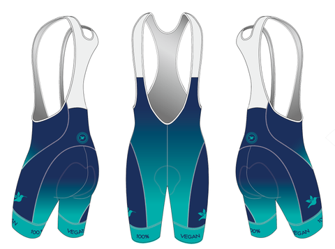 100% Vegan Men's Aero Cycling Bibs Pre-order