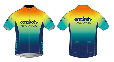 100% Vegan Men's Cycling Jersey Pre-order