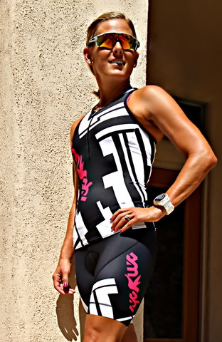 Chisel Tri Top PINK with Zip