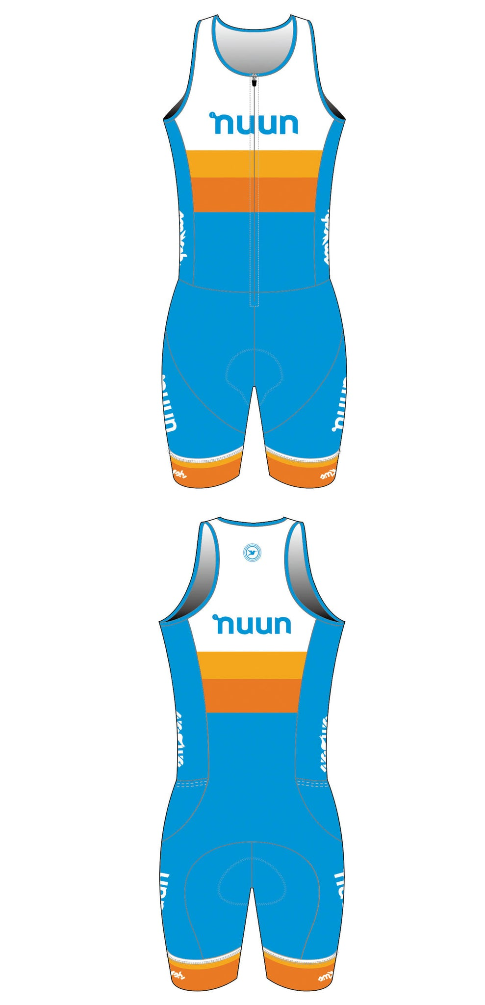 2021 Nuun Hydration Women's Sleeveless One-Piece Trisuit Pre-Order