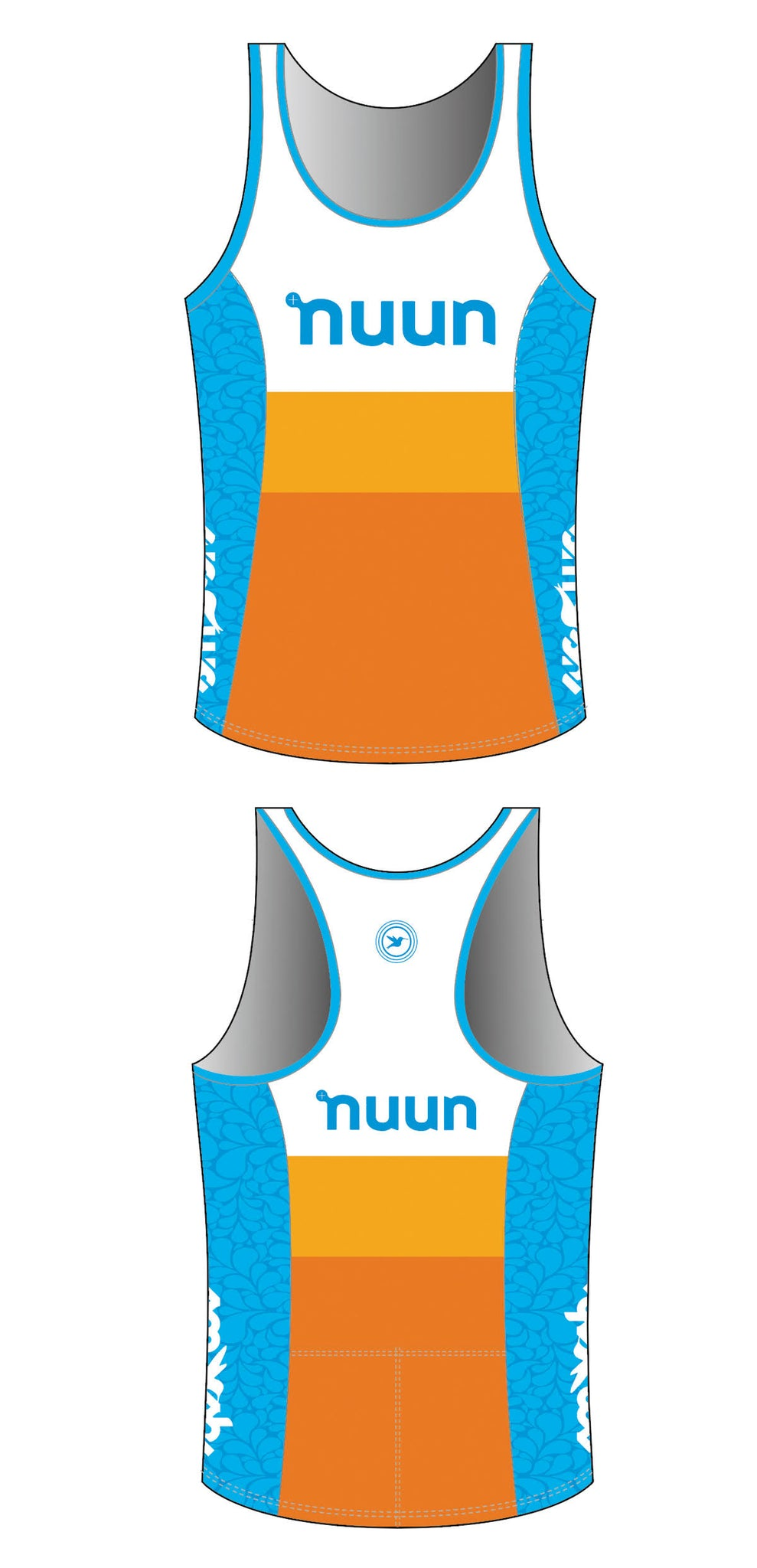 2021 Nuun Hydration Women's Tri Top with Built-in Bra Pre-order