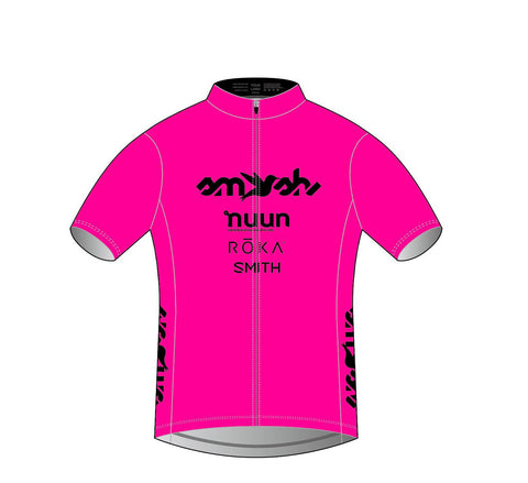 2021 Club SFQ Women's Pink Cycling Jersey