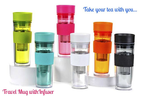 Travel Mug with Infuser