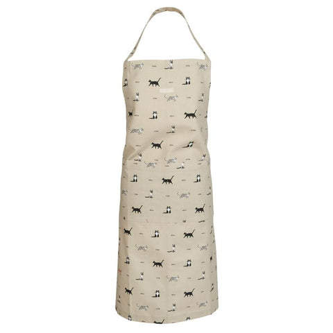 Cat Adult Apron by Sophie Allport