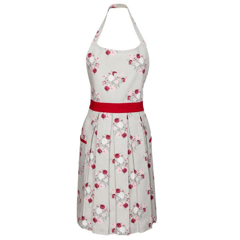 Peony Vintage Style Apron by Sophie Allport