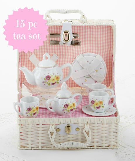 Child's Daisy Tea Set