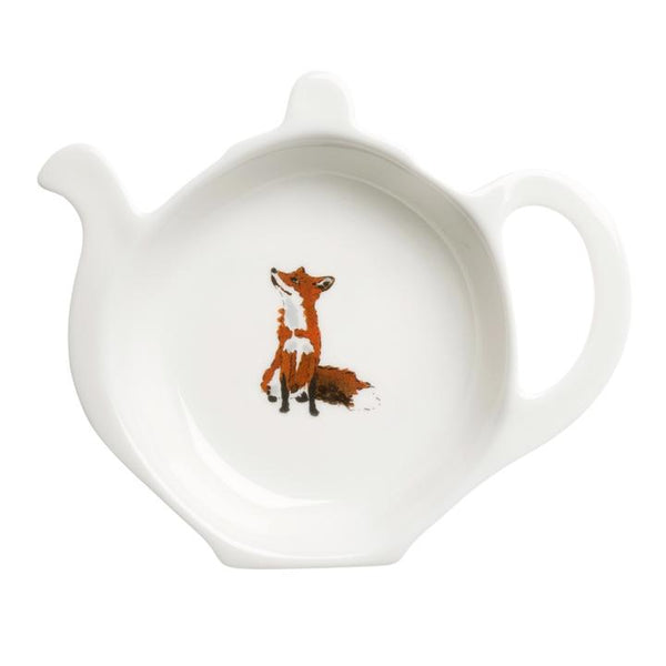 Fox Tea Caddy
