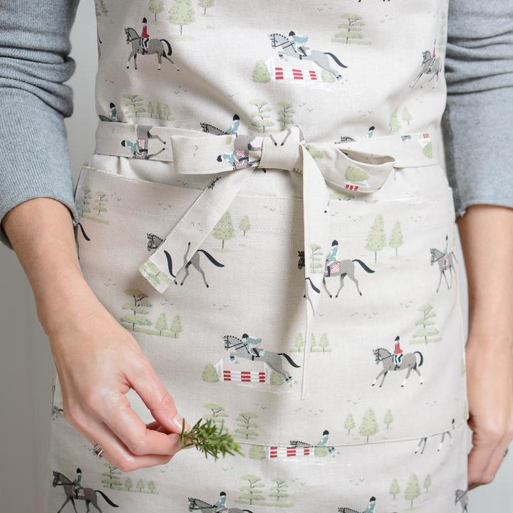 Horses Adult Apron by Sophie Allport