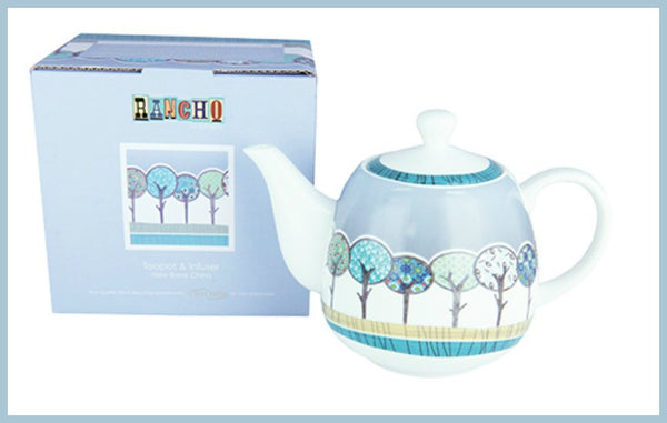 Long Forest Teapot