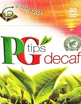 PG Tips 80 ct Pyramid Bags Decaf