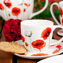Poppies Tea cup