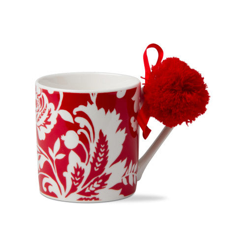 Isabella mug red and white