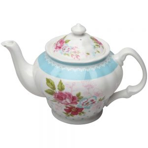 Rose Dot Teapot