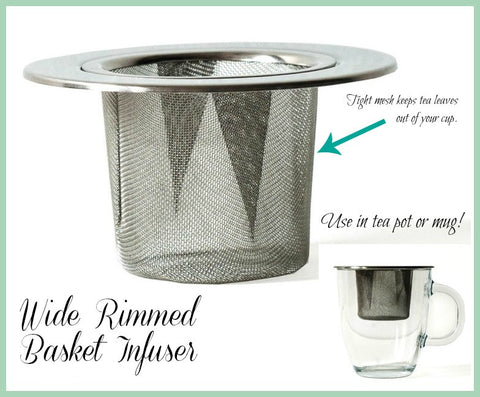 Basket Infuser - Wide Rim