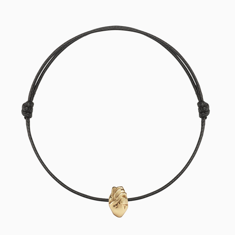 Heart of Gold Bracelet - TSUKI.CO