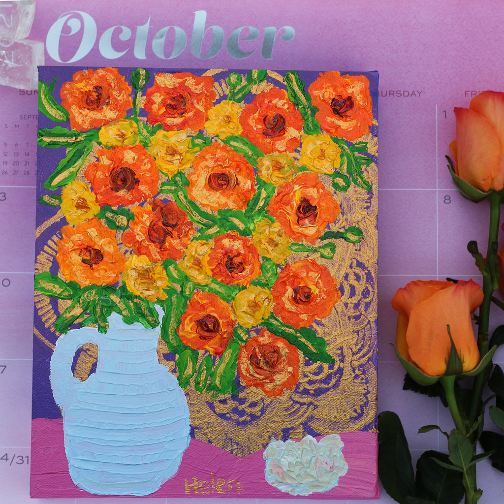October Marigold & Opal