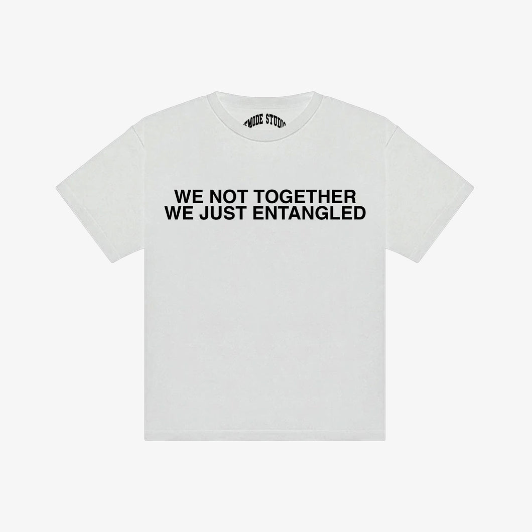WE JUST ENTANGLED TSHIRT [ WHITE ]