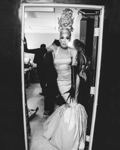 Backstage with Alaska