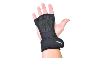 Premium Ventilated Gloves with Built-in Wrist Wraps.