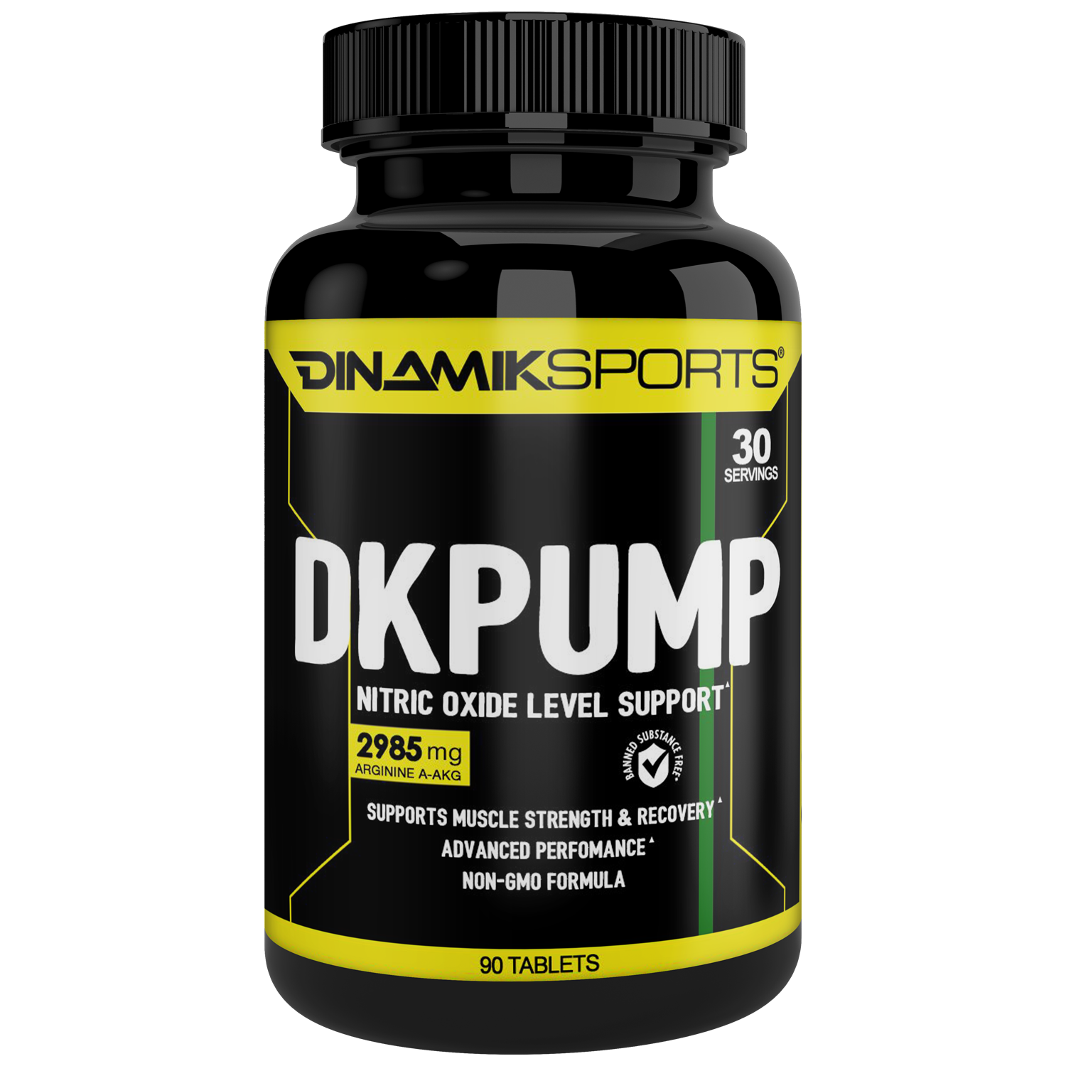 DK PUMP. NO2-Nitric Oxide Booster, 90 Tablets