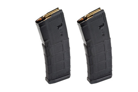 Magpul PMAG GEN 2 MOE 30rd Magazines - NON Window - Black  *2 PACK*
