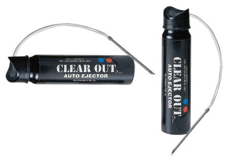 Clear Out Tear Gas Auto-Ejector 4oz