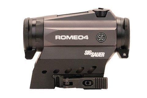 Sig ROMEO4C 1x20mm Compact Red Dot Sight - Graphite