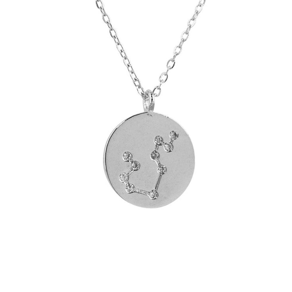 Aquarius Constellation Pendant Necklace