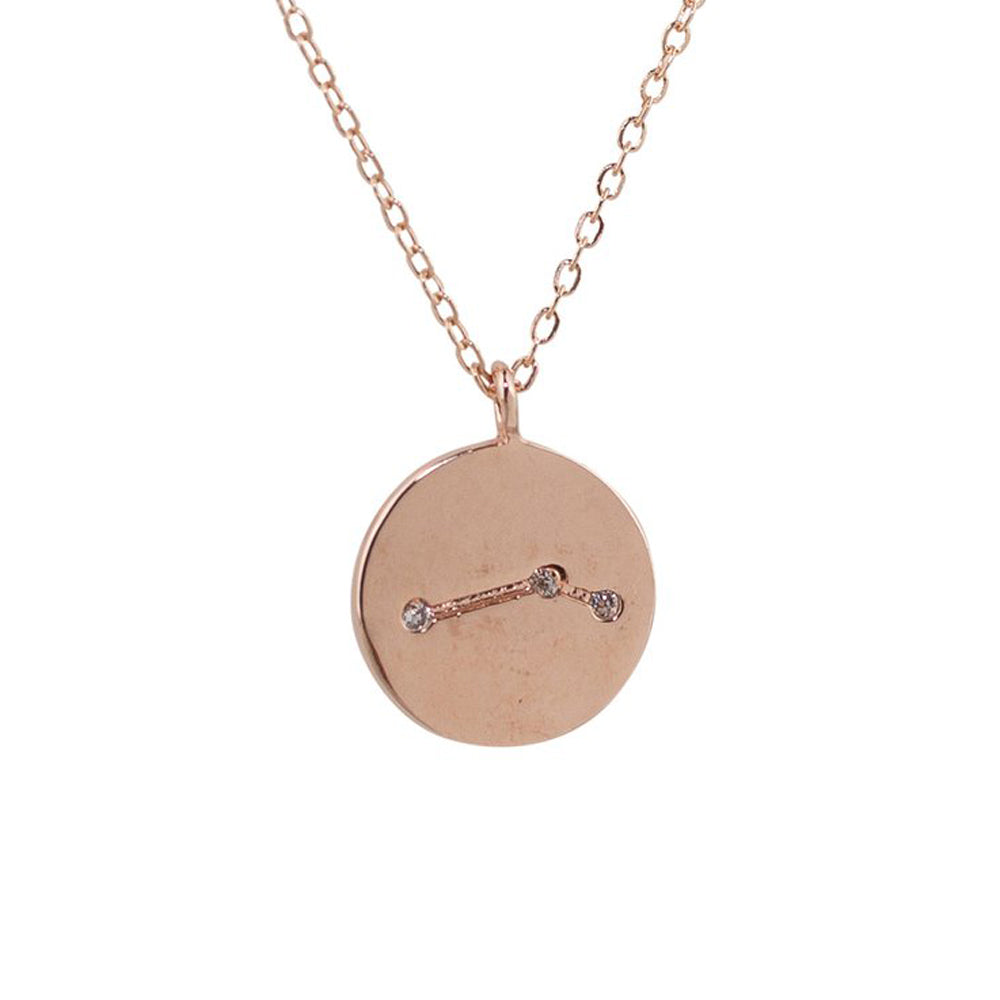 Aries Constellation Pendant Necklace