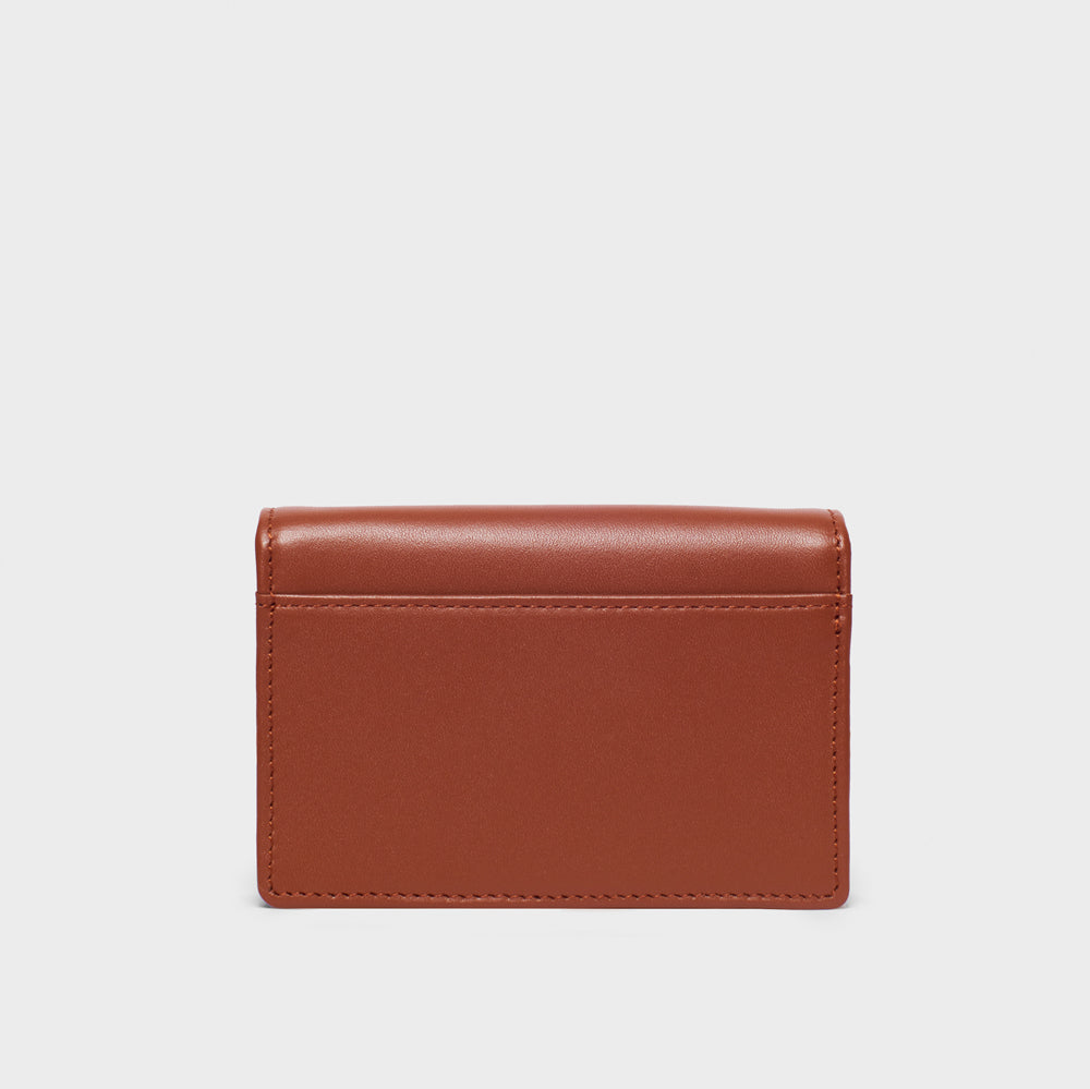 Card Holder - No° AA2 - Mocha Brown Smooth Nappa