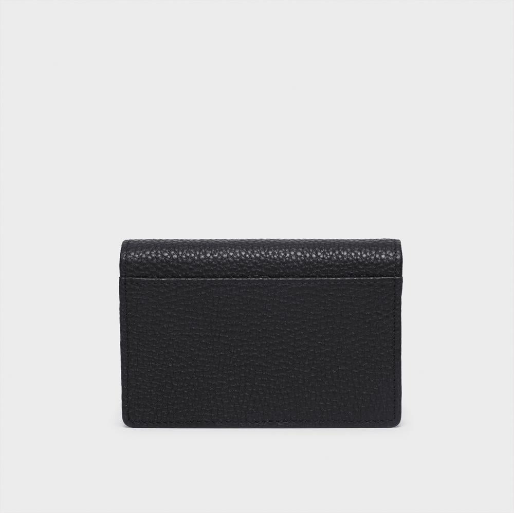 Card Holder - No° HH1 - Black Pebble Grain