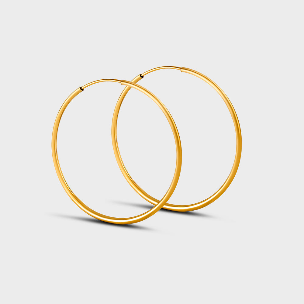 Extra Large Seamless Hoops