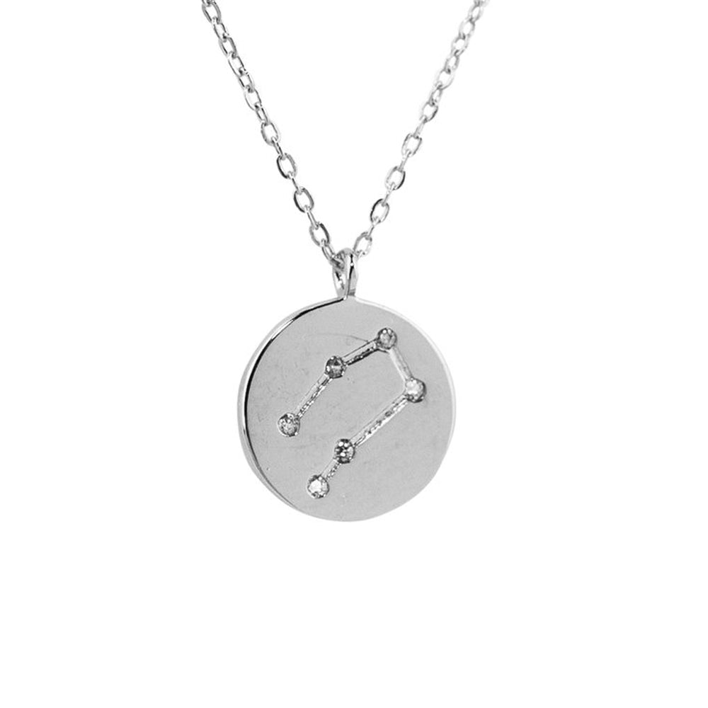 Gemini Constellation Pendant Necklace