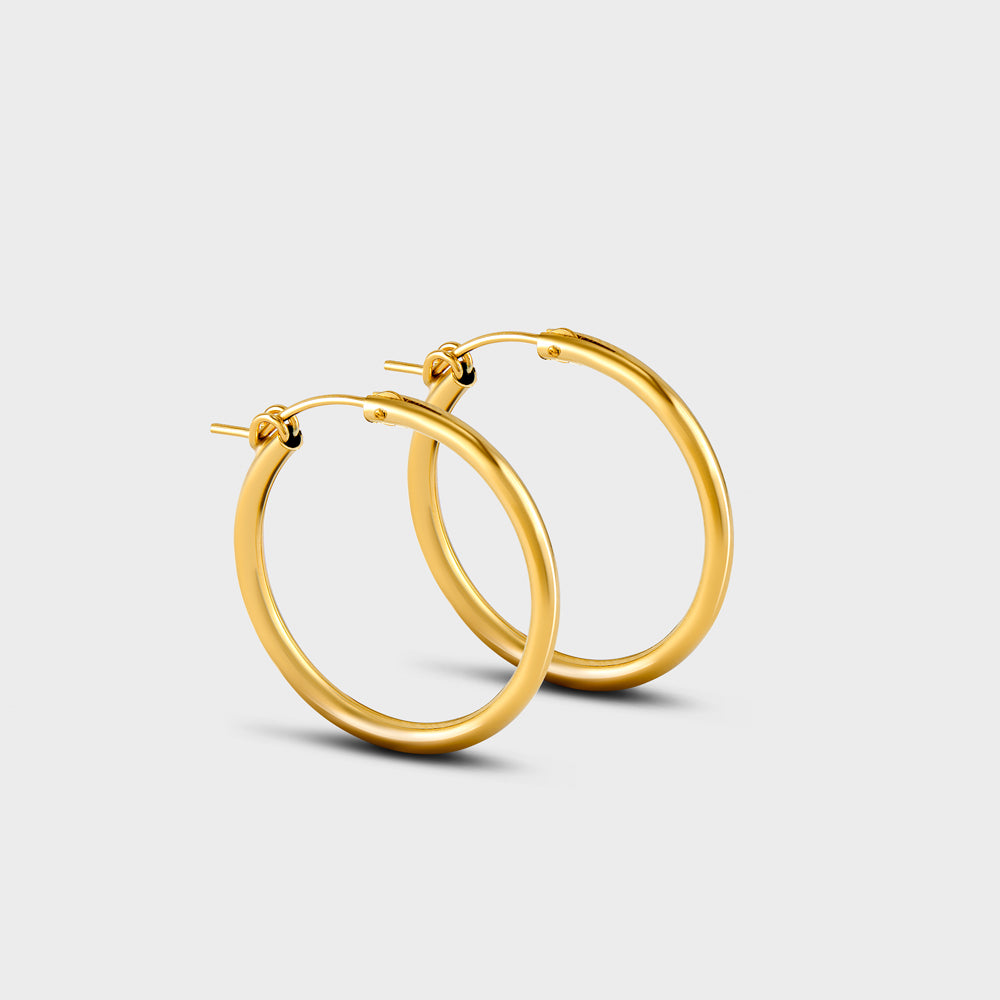 Large Hinged Tube Hoops
