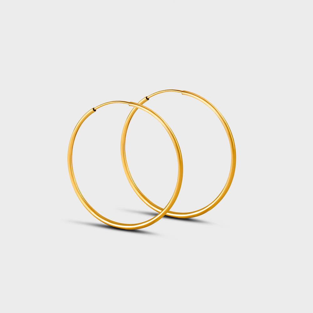 Large Seamless Hoops