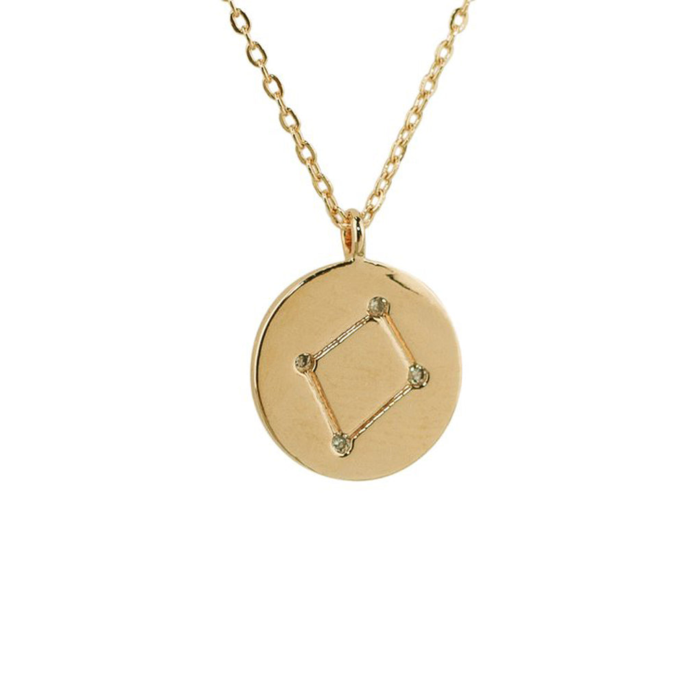 Libra Constellation Pendant Necklace