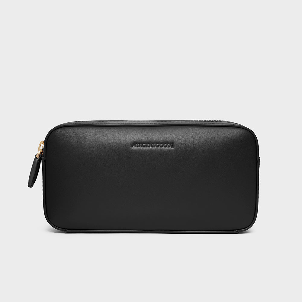 Mini Belt Bag - No° L1 - Black Smooth Nappa