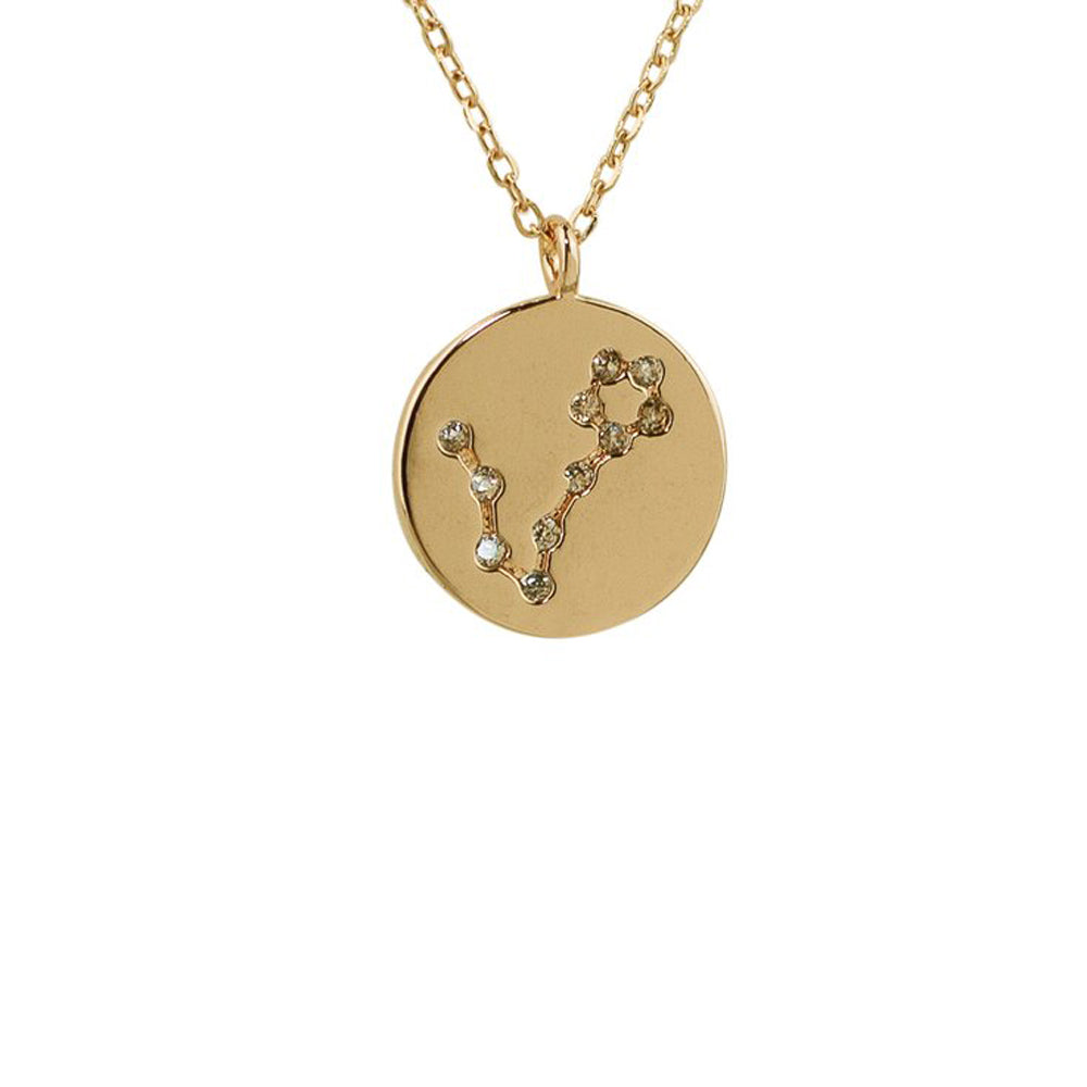 Pisces Constellation Pendant Necklace