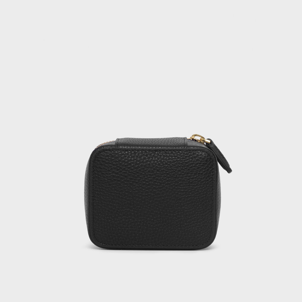 Small Carryall Case - No° LL1 - Black Pebble Grain