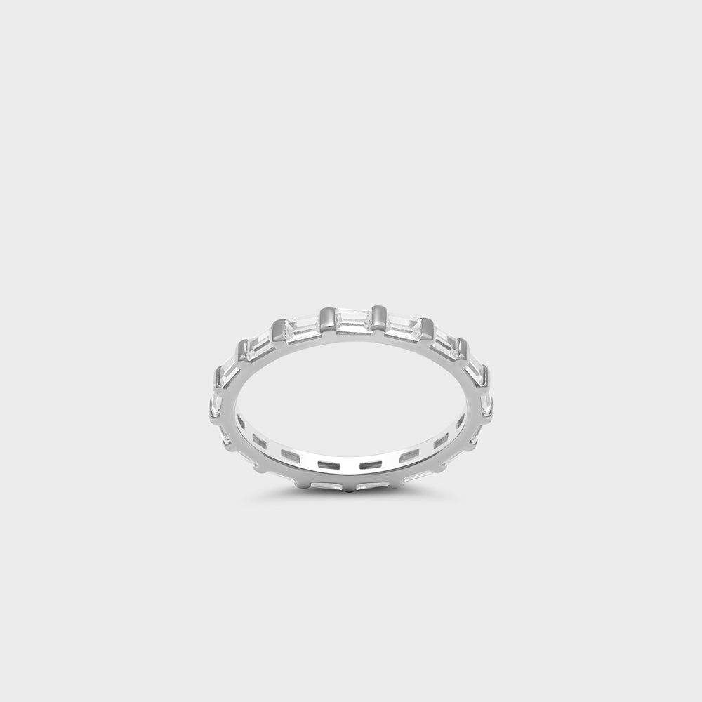 Baguette Eternity Band Ring