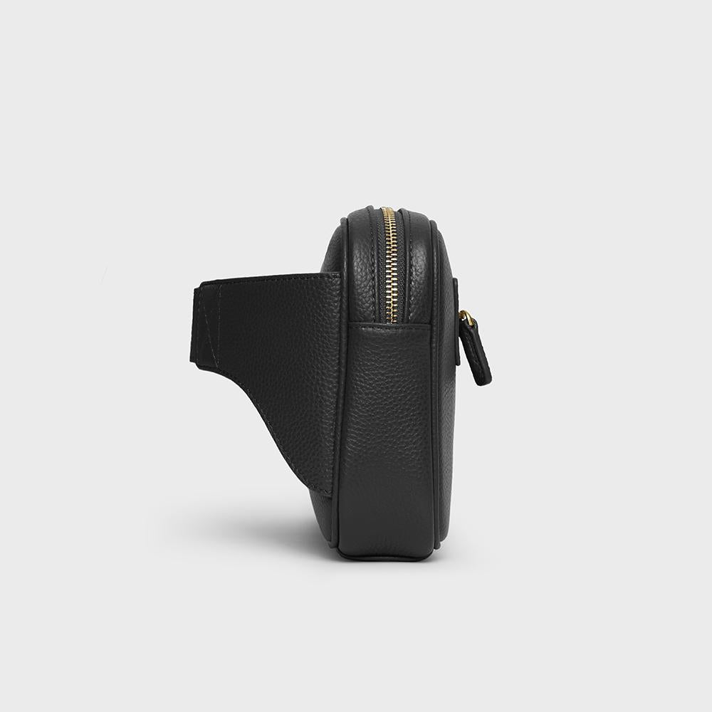 Waist Belt Sling - No° D1 - Black Pebble Grain