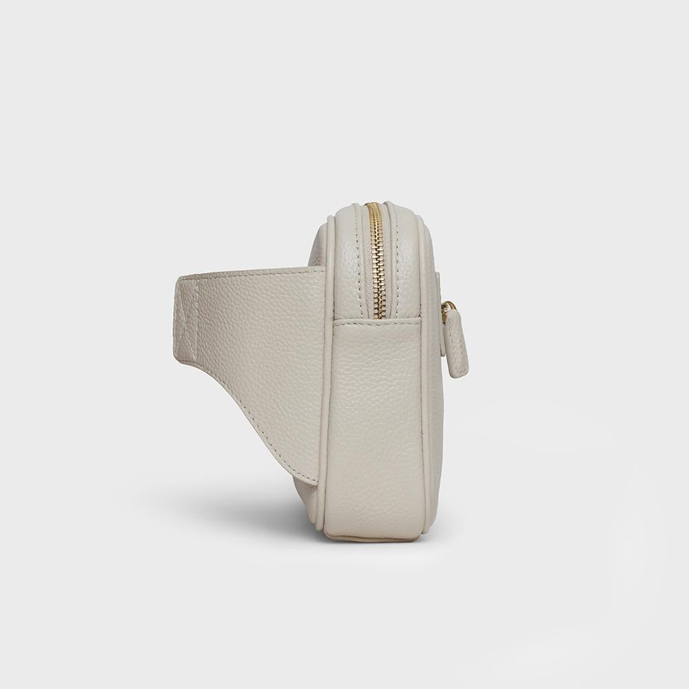 Waist Belt Sling - No° D3 - Off White Pebble Grain