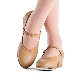 Child Tan Tap Shoe